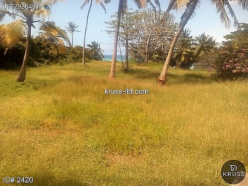 4.4 Acres beach plot for sale in Nyali.