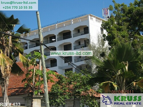 Execuitive apartment for rent in Kizingo
