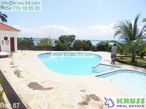 3 bedroom beach apartment Nyali for sale