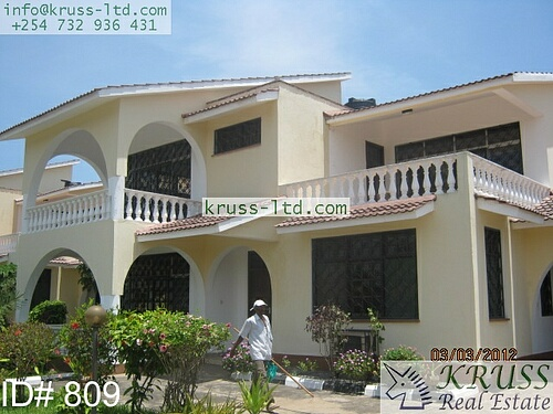 4 bedroom house for long term rent in Shanzu