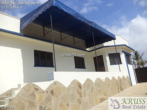 3 bedroom house for rent in Bamburi Beach