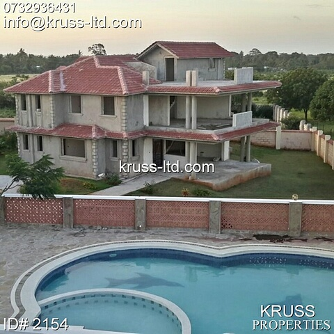 4br villa houses for sale in restigious part of Vipingo