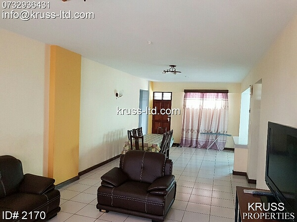 3br fully furnished penthouse for rent in Kizingo