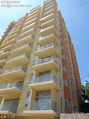 3br new very spacious seaview apartment for rent in Nyali