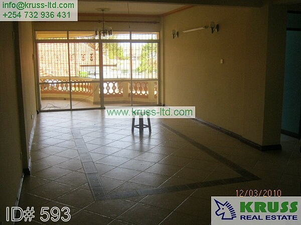 A two bedroom apartment for rent / to let in Kizingo