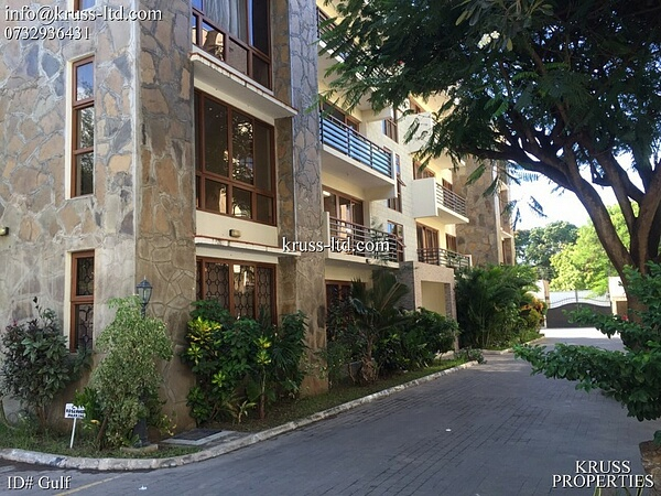 3 bedroom executive apartment for long term let in Nyali