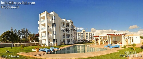 3 Bedroom beach apartment for sale in Nyali