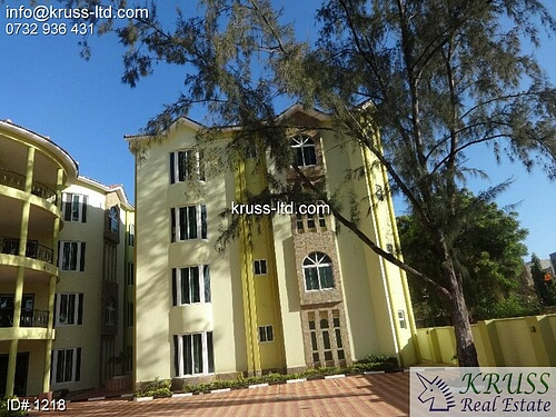 3 br modern apartment all en-suite for rent in Nyali