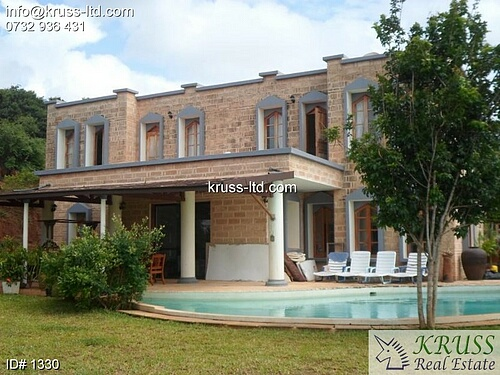 Vipingo Ridge, 3 b/r house with stunning sea views for sale