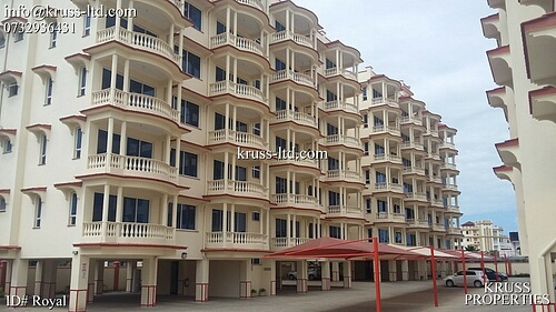 3 br ocean view apartment for sale in Nyali, near Naivas & City Mall