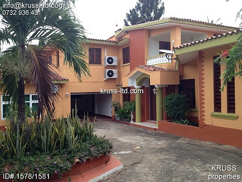 4br Ambassadorial house to let in Nyali