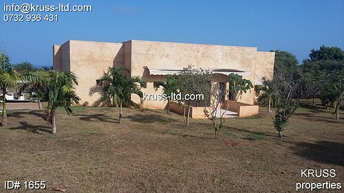 4br lamu style villa house for sale inside Vipingo Ridge