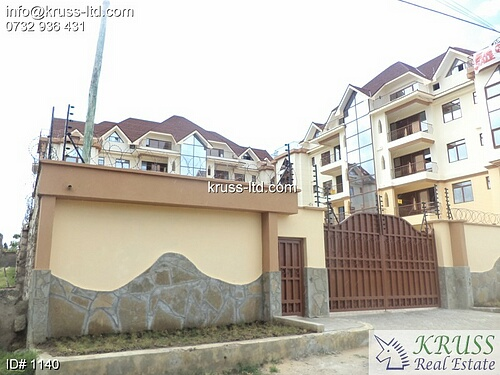 3 bedroom top floor ocean view apartment for sale in Nyali