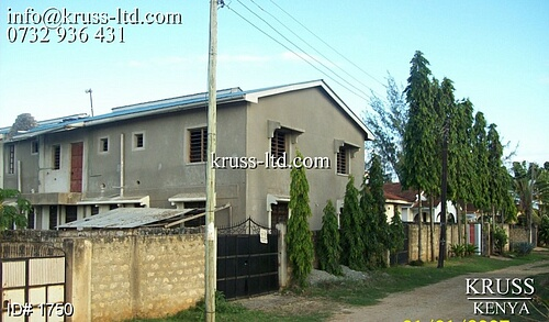 block of 4 units of 2br apartmetns for sale in Bamburi-Kiembeni