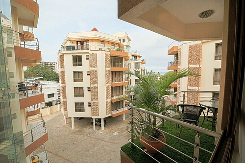 2 br FURNISHED oceanview penthouse apartment for rent in Nyali