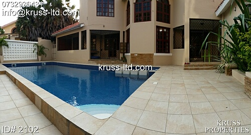 5br ambassadorial house for rent in Nyali