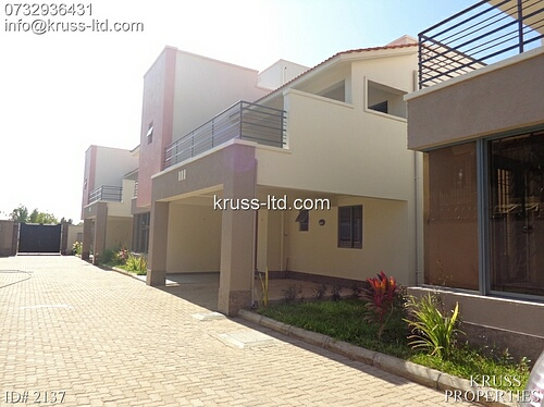 4 Bedroom newly built modern house for rent in Nyali.