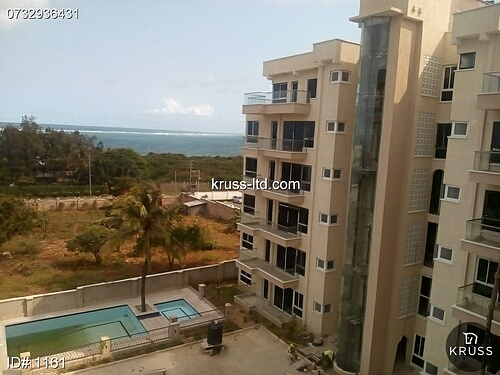 2br furnished Ocean View Penthouse ror rent in Nyali