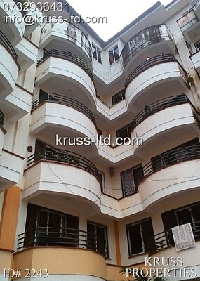 3 br Apartment for rent in Nyali, close to Cinemax.