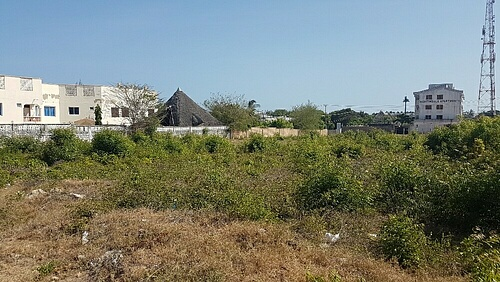 Half acre for sale in Shanzu Beach fronting tarmac Serena Rd