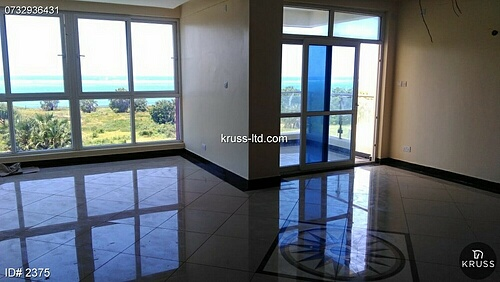 Newly Build Modern 3br apartments for rent in Nyali