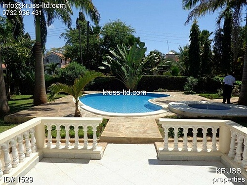 4br fully furnished house with swimming pool for sale in Nyali