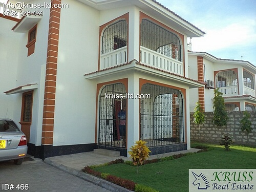 4 bedroom house for rent  in Nyali in a gated community