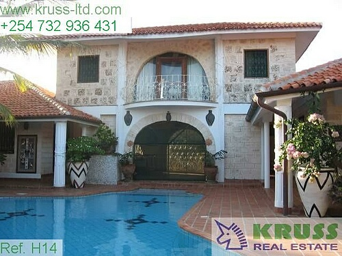 Wonderful house composed of 5 big bedrooms on sale in Kilifi Bofa on sale